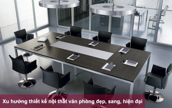 Thiết kế văn phòng đơn giản nhưng thuận tiện