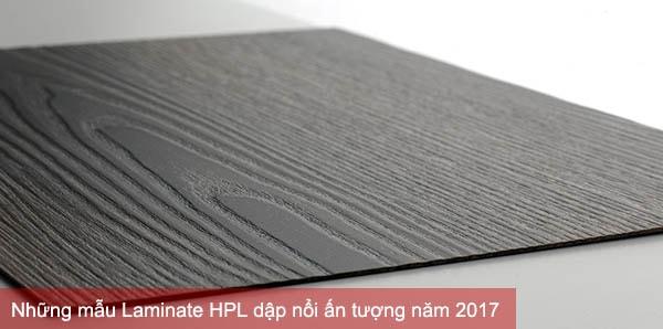 Những mẫu Laminate HPL dập nổi ấn tượng năm 2017
