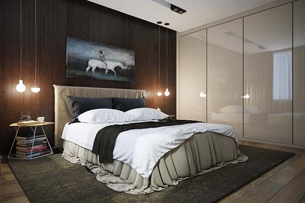 Nội thất không gian một phòng ngủ chung cư 120m2