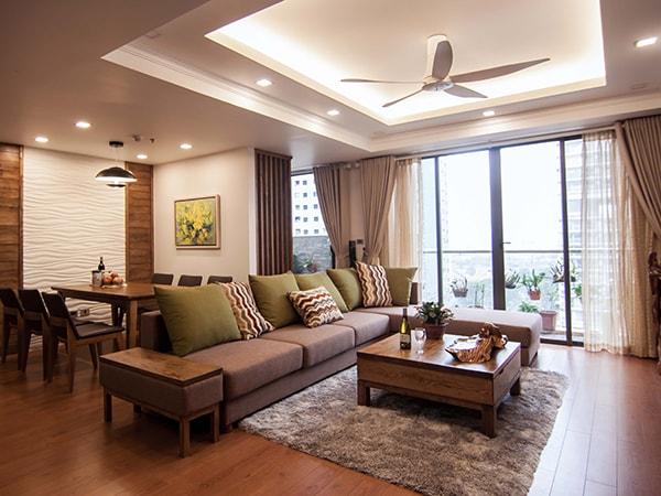 Thiết kế căn hộ chung cư 120m2 như thế nào cho phù hợp