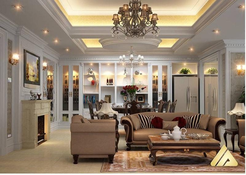Chọn màu sắc và bố trí phòng khách cho gia chủ tuổi Canh Thân
