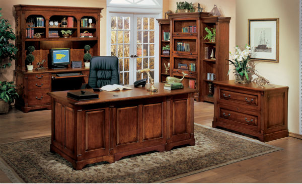 Cách chọn bàn làm việc chất liệu gỗ tự nhiên