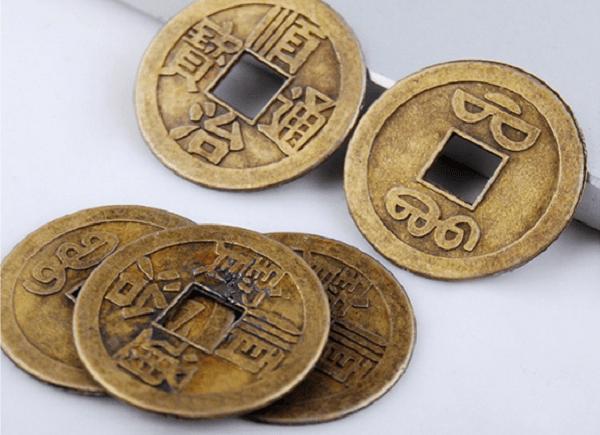 Đồng xu phong thủy sẽ mang lại nhiều may mắn cho tuổi Nhâm Thân