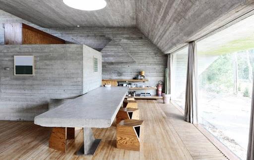Nội thất gỗ thô mộc là phong cách nội thất gỗ đẹp không còn xa lạ với nhiều gia chủ tại Việt Nam.