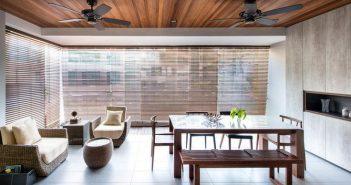 Thư thái với nội thất nhà theo phong cách mộc