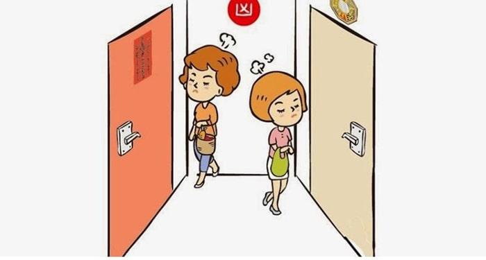 Nên tránh hai cửa phòng ngủ đối diện nhau