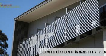 Giới thiệu đơn vị thi công lam chắn nắng uy tín TPHCM