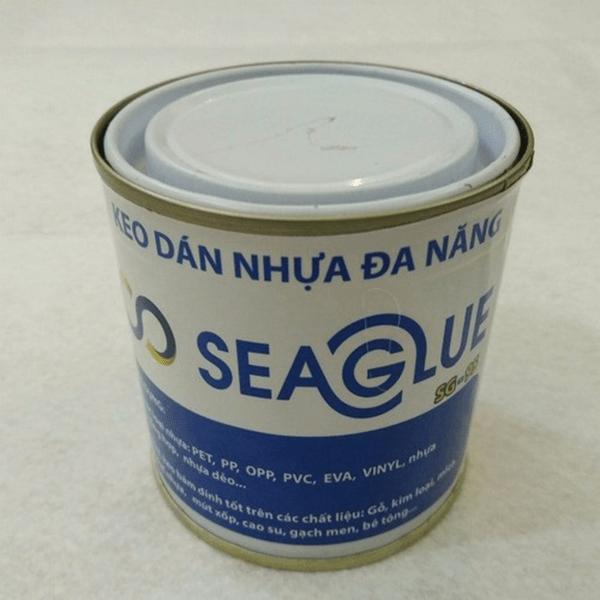 Keo dán nhựa SeaGlue bám dính tốt trên bề mặt nhựa