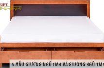 6 mẫu giường ngủ 1m4 và giường ngủ 1m6 giá rẻ nên mua nhất 2020