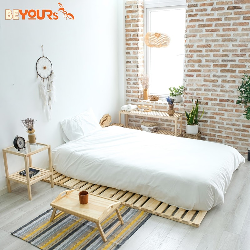 Giường ngủ skinny 1m6x2m phù hợp cho các căn phòng nằm ở tầng trên của căn nhà