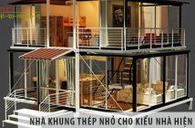 Nhà khung thép nhỏ lựa chọn hoàn hảo cho kiểu nhà hiện đại